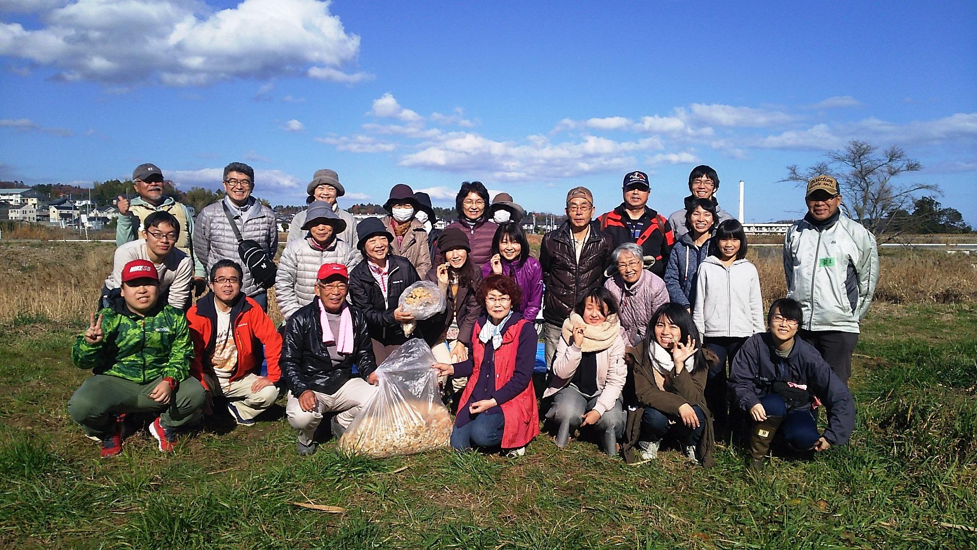 「広野原笑顔サンサンプロジェクト」交流イベント ボランティア日帰りツアーのみなさん